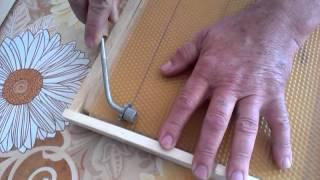 видео Как правильно поставить вощины