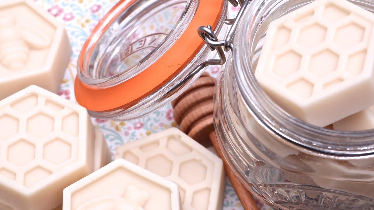 Homemade Milk & Honey Soap Recipe