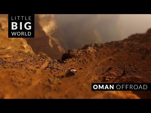 Oman Offroad (4k, Timelapse, Aerial, Tilt-Shift)