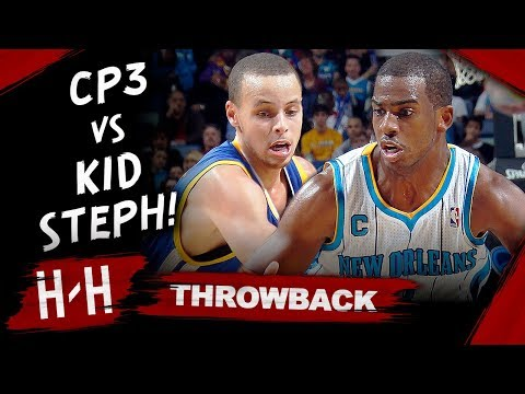Throwback: Chris Paul vs Sophomore Stephen Curry DUEL Highlights (2011.01.05) - SICK!