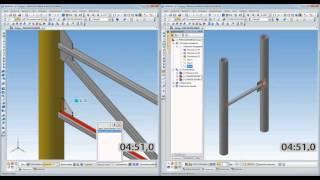Оборудование: Металлоконструкции(В данном ролике продемонстрирована высокая скорость построения, простота, удобство работы и интерактивно..., 2016-03-01T14:15:13.000Z)
