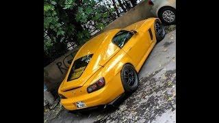 Sarı S2000 Otoparkta Yanlıyor [TR]