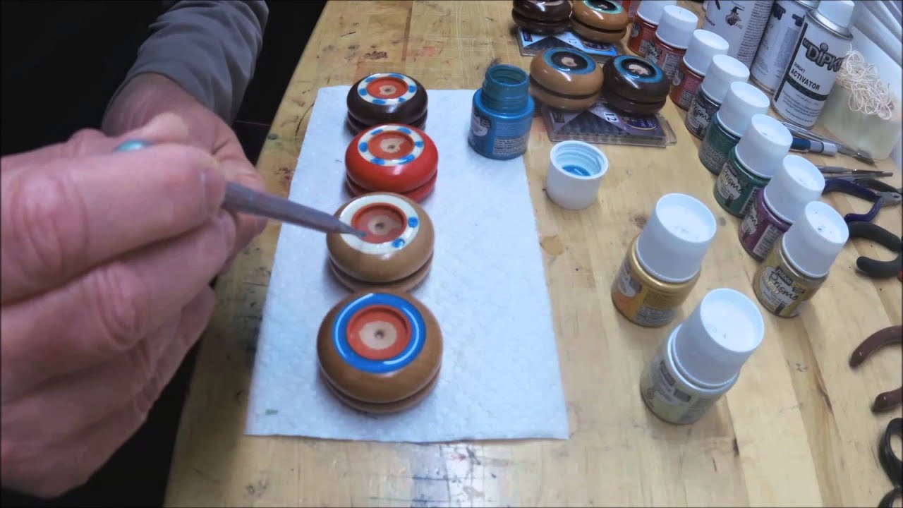 Using Resin As Paint