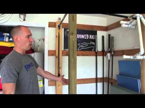 Crossfit the home gym with karl eagleman youtube