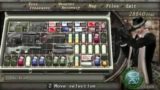 Resident Evil 4 PC Professional Mode - Krauser Walkthrough (easy knifing)