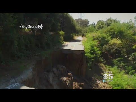 Emergency Repairs Underway On Stevens Creek Trail