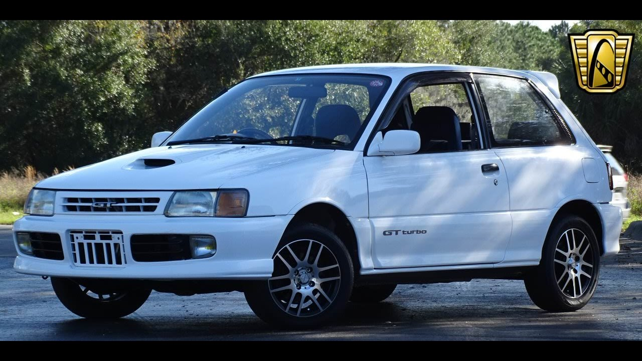 1990 Toyota Starlet GT Turbo Gateway Classic Cars Orlando #714