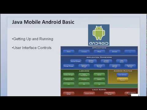 Java Mobile Android Basic - 1. Welcome