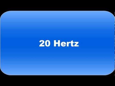 Bass Frequency Tests (10 Hz - 70 Hz)