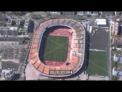 Stadion Stadion Letzigrund in Zürich in Schweiz