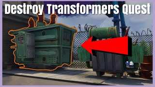 Destroy Transformers Daily Quest | Fortnite Save The World Guide