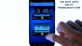 3D Flip Clock and World Weather - App Review - Excellent Widget for Your Android screenshot 5