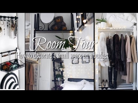 Pinterest bedroom | Room tour: How to style a SMALL bedroom