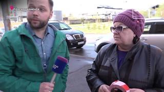 Новый жилой дом рушится на глазах в Краснознаменске