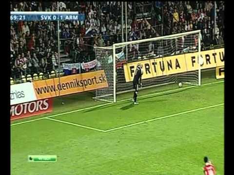 Սլովակիա  0 - 4 Հայաստան  06.09.2011