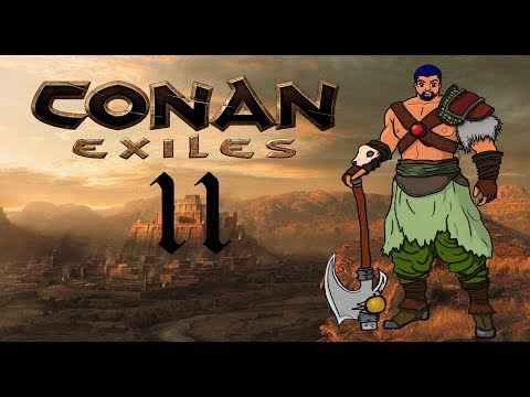 Sepermeru Is Not A Friendly Place... | Let's Play Conan Exiles Gameplay (Stream) #11