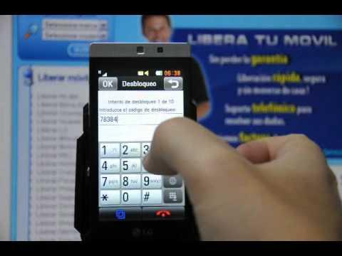 Como liberar LG GD880 mini por código en www.movical.net
