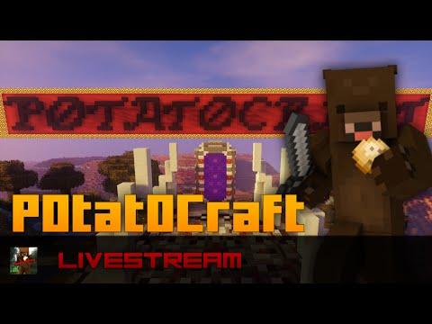 Minecraft PC - P0tat0Craft LIVESTREAM
