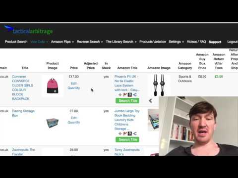 How To Use Tactical Arbitrage for Online Arbitrage