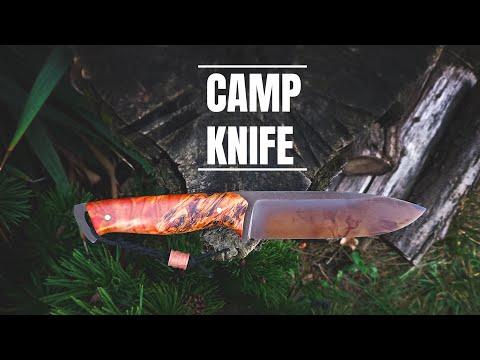 Knife Making - Colourful CAMP Knife