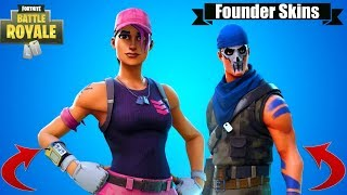 How to Unlock the Fortnite Founders Pack Skins! (FORTNITE NEW SKINS)