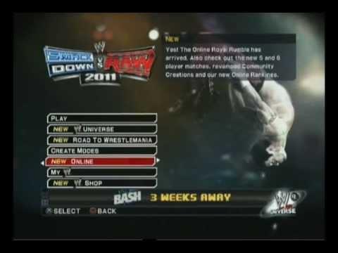 Как и откуда качать рестлеров в игре Smackdown Vs. Raw 2011