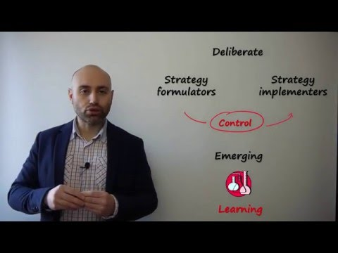 Understanding business strategy: emergent or deliberate process?