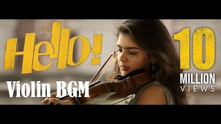 HELLO! |*Akhil*| Violin tune BGM (Extended) sad and happy versions