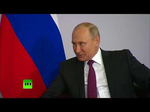 Путин впервые встретился с новым премьер-министром Армении Пашиняном
