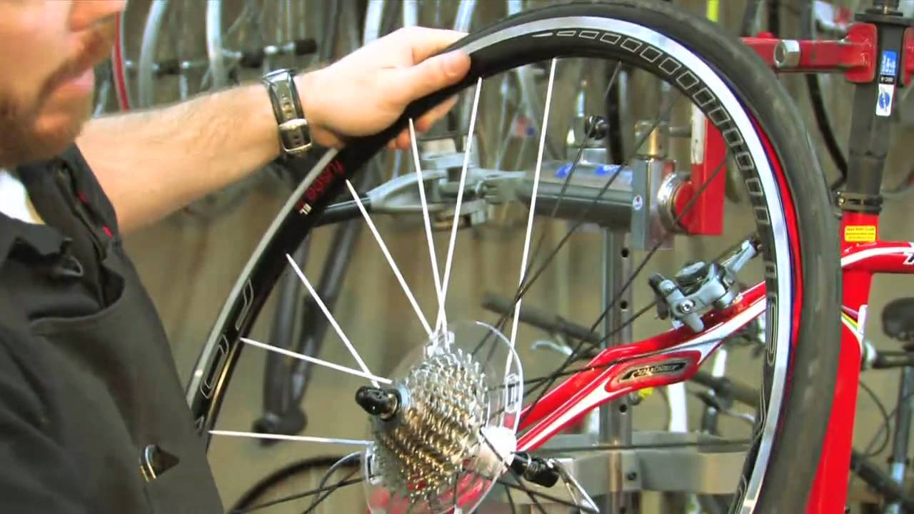 How To Change Road Bike Tires Youtube