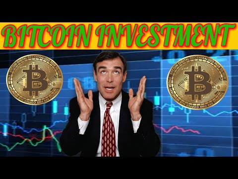 Registered bitcoin investment companies