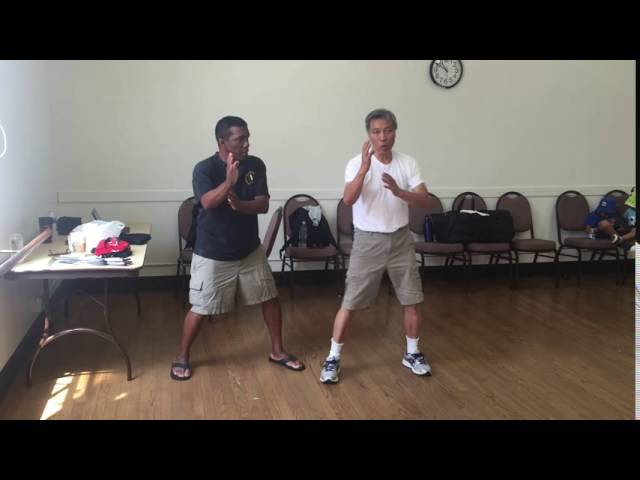 Wing Chun left and right side stance