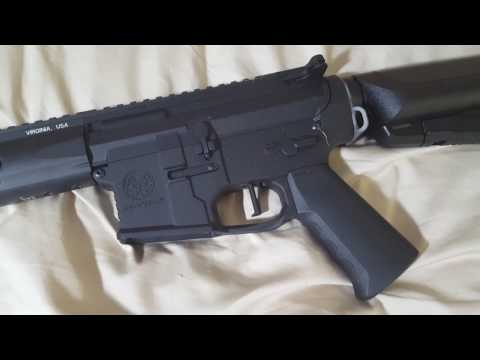 Krytac MKII SPR Lower reciever crack