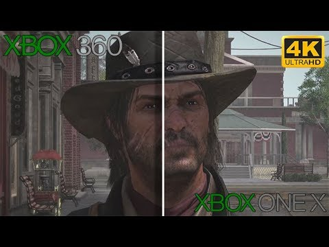 Red Dead Redemption Xbox 360 vs Xbox One X, notre comparatif