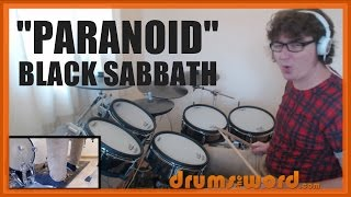 ★ Paranoid (Black Sabbath) ★ Drum Lesson PREVIEW | How To Play Song (Bill Ward)