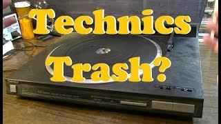Technics SL-L25 Linear Turntable - Is It Worth Fixing?