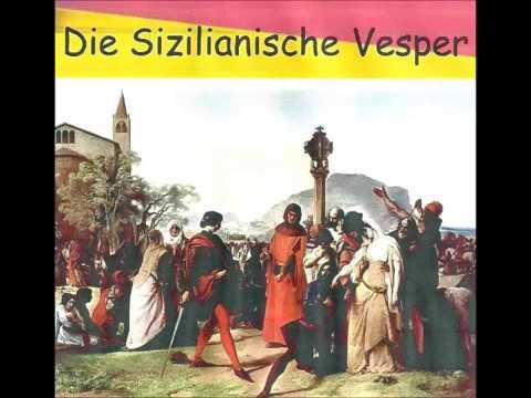Verdi. DIE SIZILIANISCHE VESPER.  Roswaenge, Kunitz, Schlusnus, Van Rohr.  Frankfurt, 1951.
