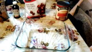 Jill's Easy Cherry Cobbler
