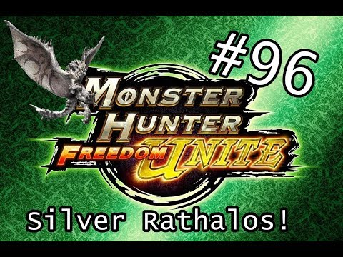Monster Hunter Freedom Unite #96 Silver Rathalos! O Rei! thumbnail