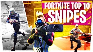 Top 10 Fortnite Sniper Kills