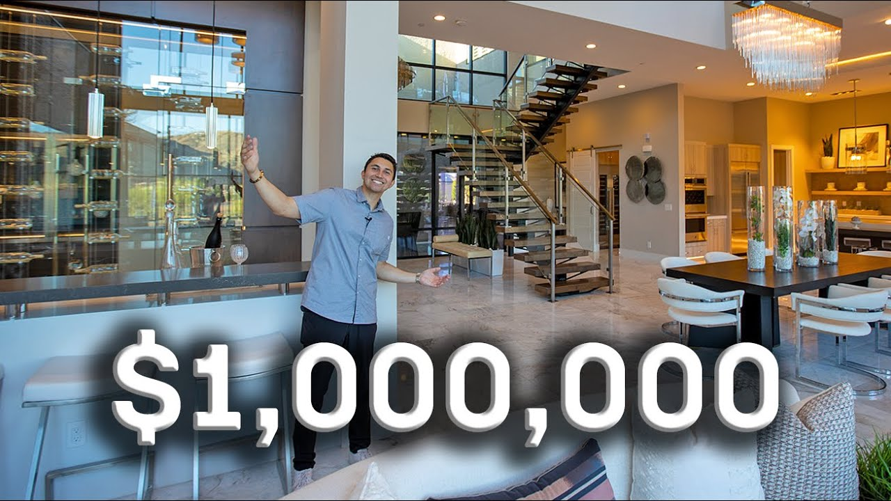 What $1,000,000 buys you in Las Vegas! | Luxury Home Tour
