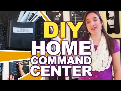 DIY Home Command Center! Organization & Scheduling Center