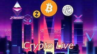 Crypto Live : Bitcoin Approaching $8,300.  Episode 561 - Crypto Technical Analysis