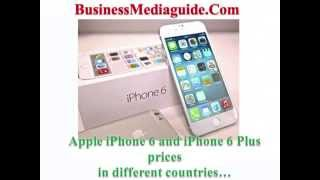 Apple Iphone And Iphone Plus Prices Different Countries
