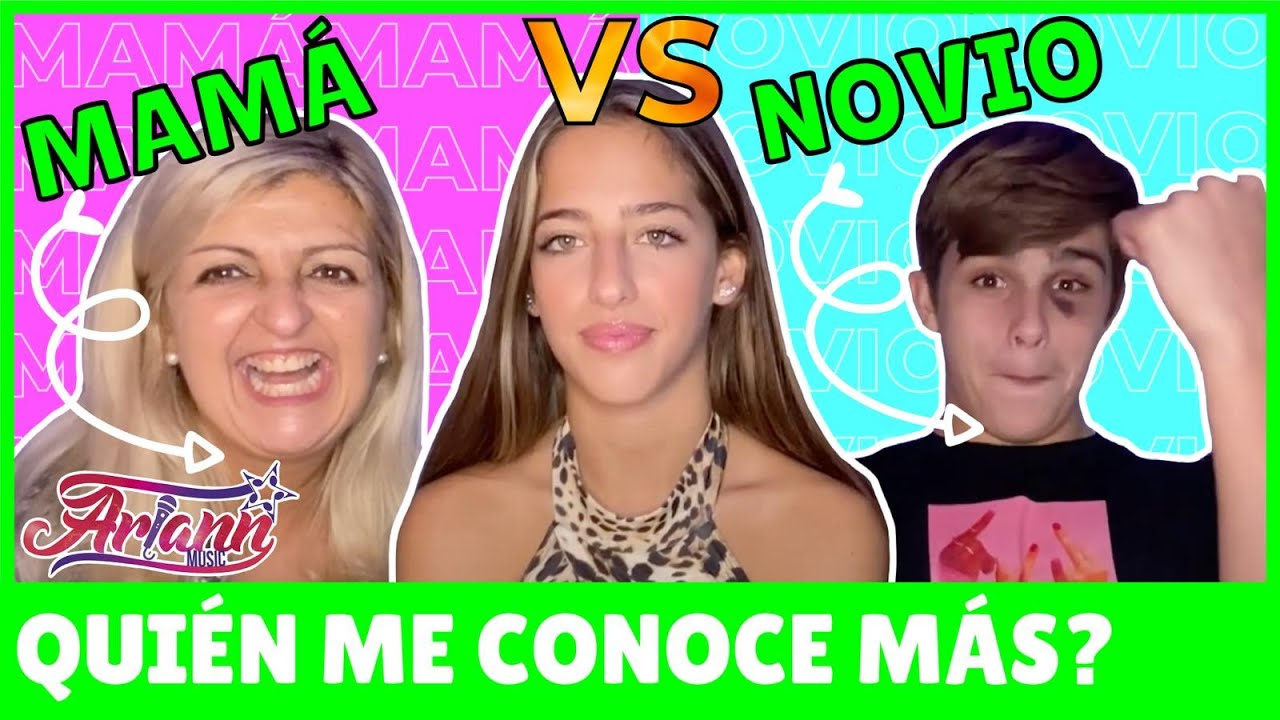 ¿Quién me conoce más? MI NOVIO vs MAMA - ARIANN MUSIC