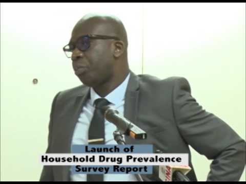 Launch of Household Drug Prevalence Survey Report