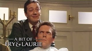 The Well Spoken Barber | A Bit Of Fry & Laurie | BBC Comedy Greats
