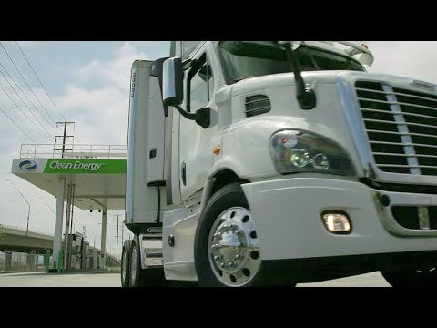 Big-Rig Drivers Discover Natural Gas