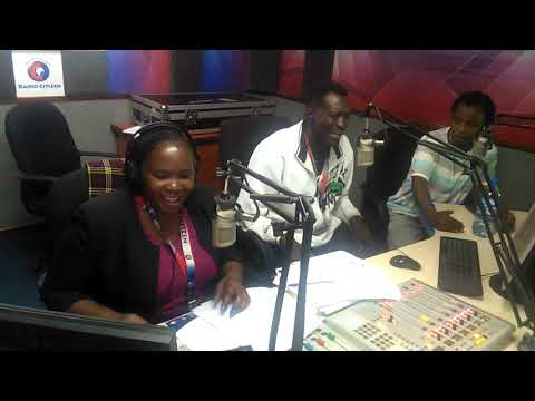Kaploti Mwenyewe   Drive on show interview with Tina ogal& Munai general @Citizen radio prt 2