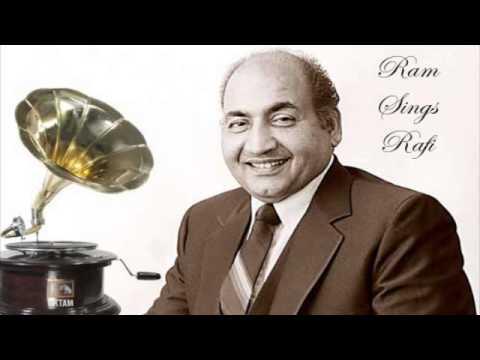 Ram Sings Rafi - Zindagi Tho Bewafa Hai